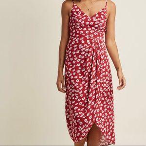 ModCloth Lanai Must Be Dreaming Faux Wrap Dress